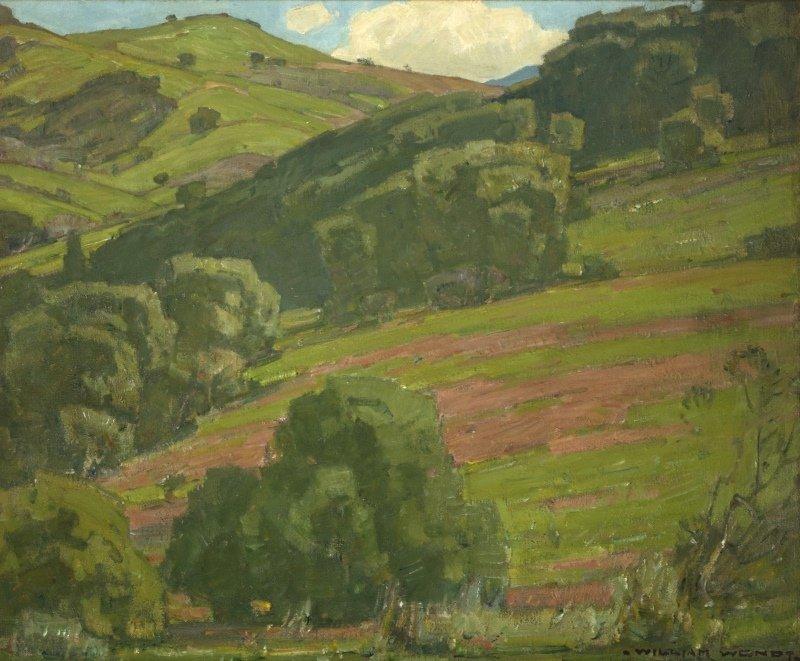 William Wendt A.N.A. (1865-1946 Laguna Beach, CA)