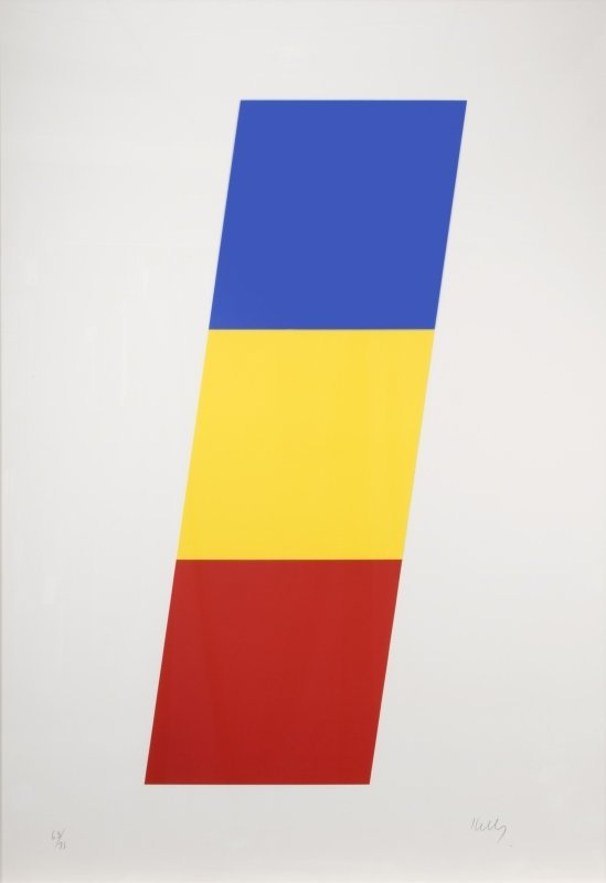 Ellsworth Kelly (1923-2015 Spencertown, NY)