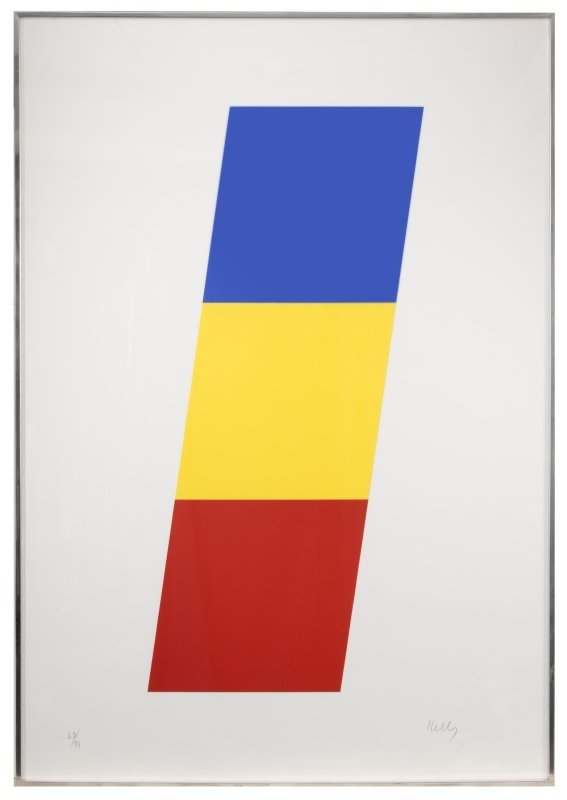 Ellsworth Kelly (1923-2015 Spencertown, NY) - 2