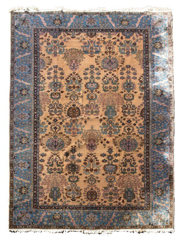 A Persian variety area rug