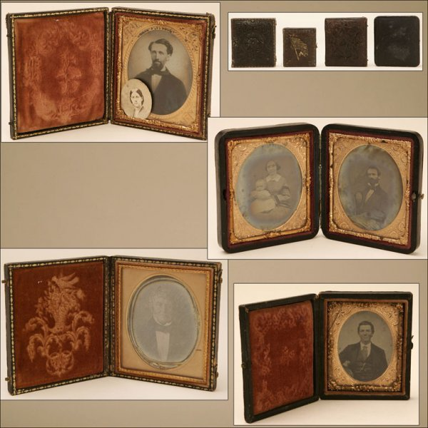 2023: A GROUP OF FOUR DAGUERREOTYPES