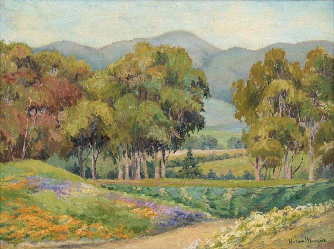 Helen Hart Morgan (1892-1984 Burlingame, CA)