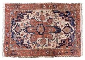 A Persian Heriz Flatwoven Rug