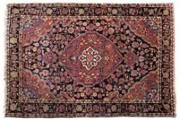 A Sarouk variety area rug