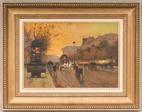 Edouard Cortes (1882-1969), Boulevard de la Madeleine,