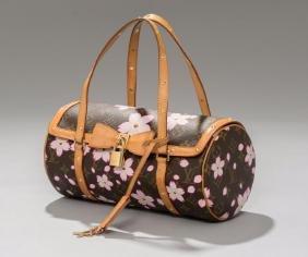 Louis Vuitton Murakami Cherry Blossom Papillon bag