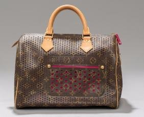 Louis Vuitton Perforated Speedy 30 Tote Bag