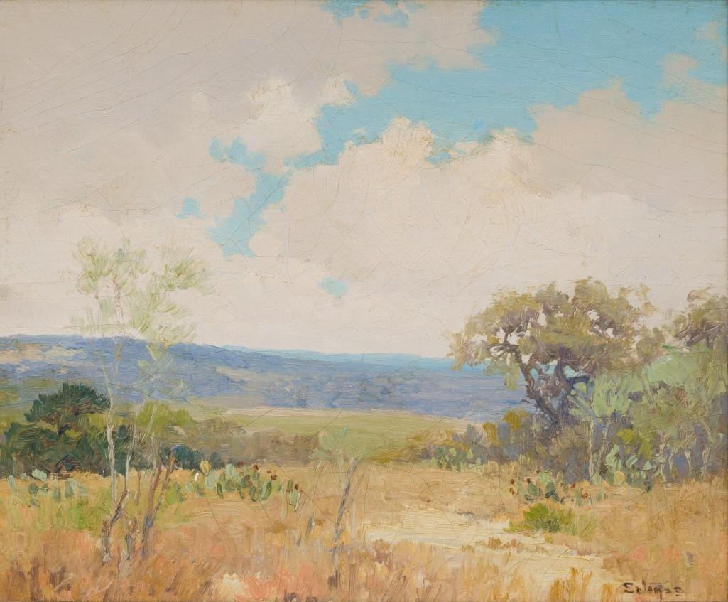 """Porfirio Salinas (1910-1973), """"Summer Meadow"""", 1932"""