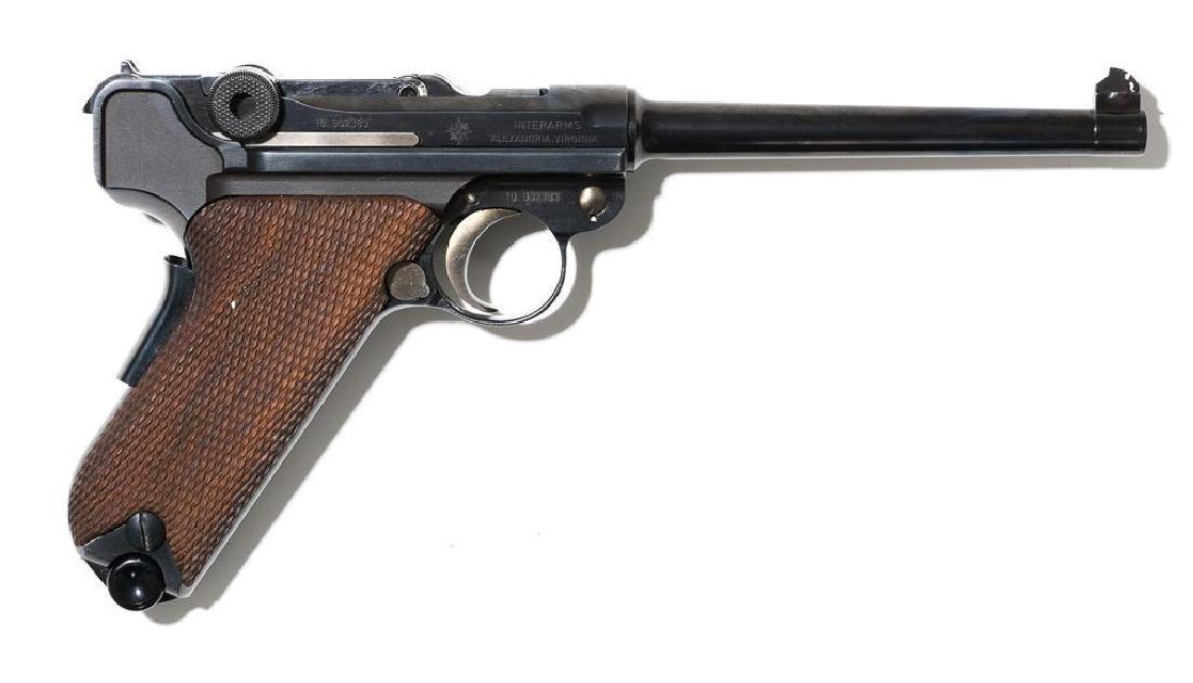 Interarms/Mauser Luger .30 Luger pistol - 2