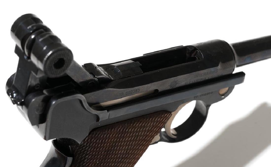 Interarms/Mauser Luger .30 Luger pistol - 3