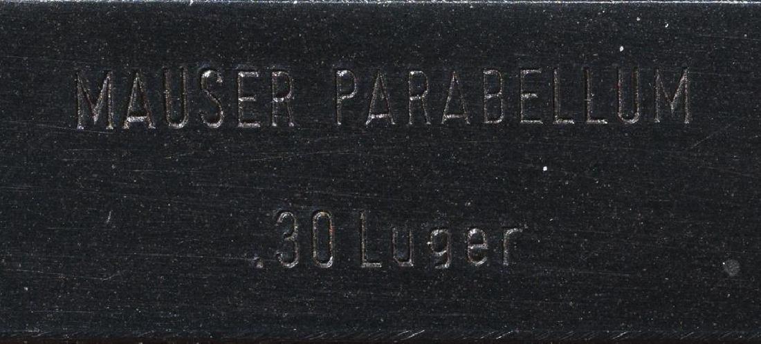 Interarms/Mauser Luger .30 Luger pistol - 7