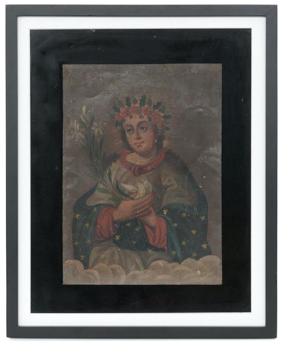 Mexican retablo - 2