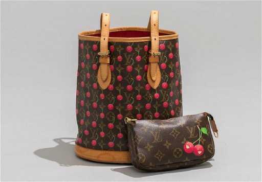 7ab2e8b1ab17 Louis Vuitton Monogram Cherry Cerise Tote   Wallet