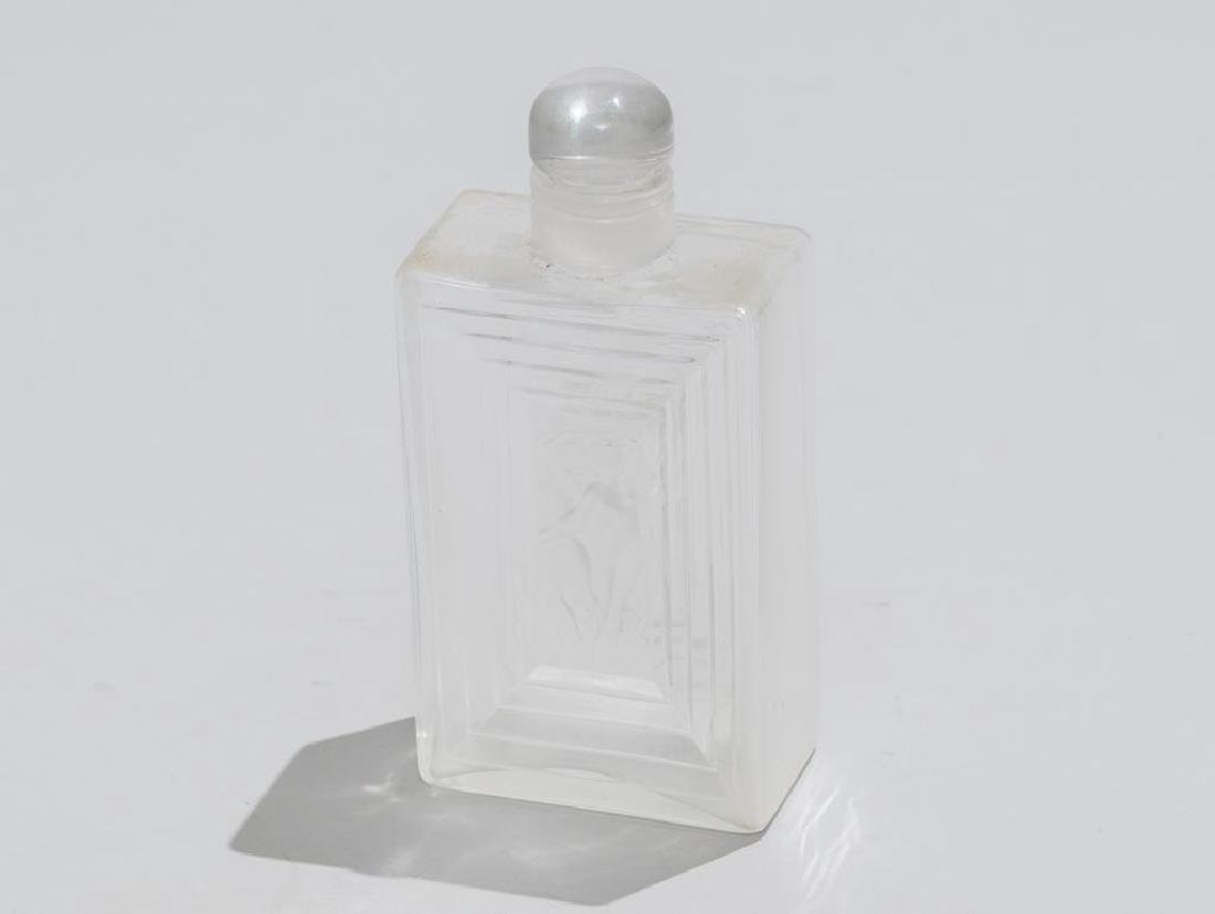 Rene Lalique French Art Glass Decanter