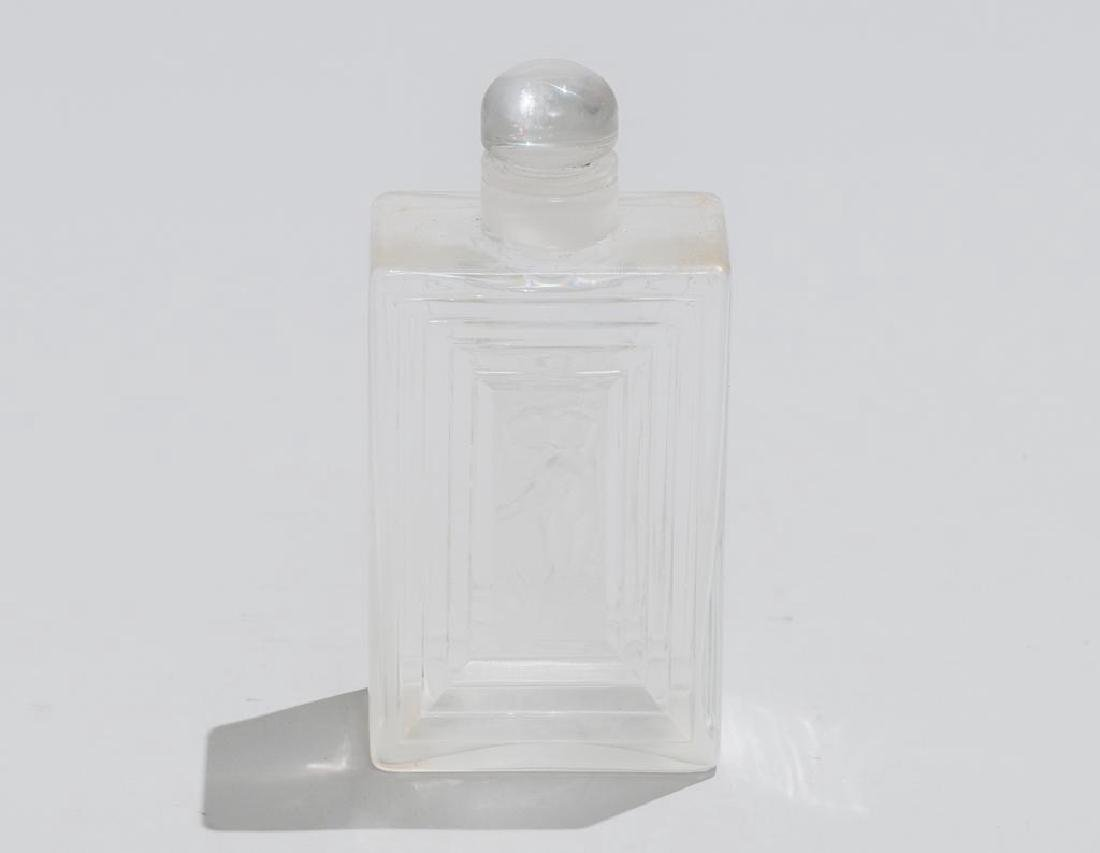 Rene Lalique French Art Glass Decanter - 3