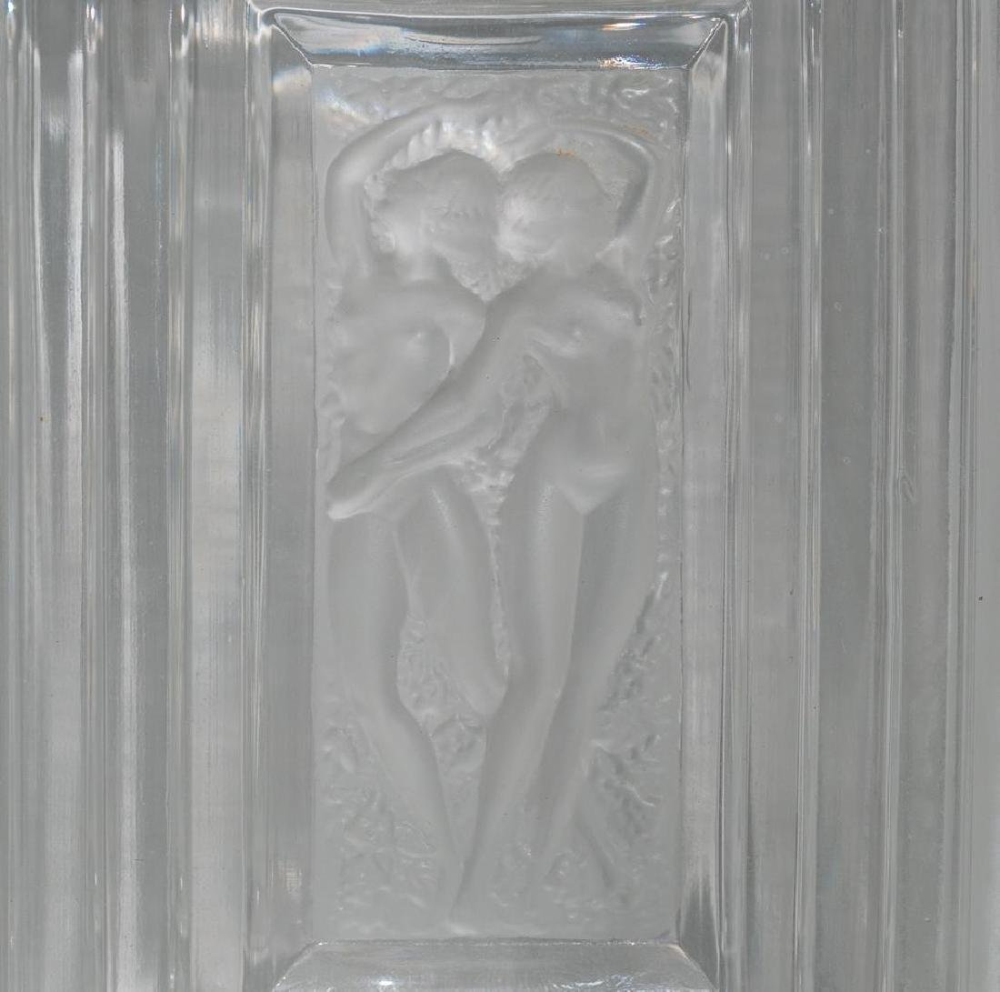 Rene Lalique French Art Glass Decanter - 7