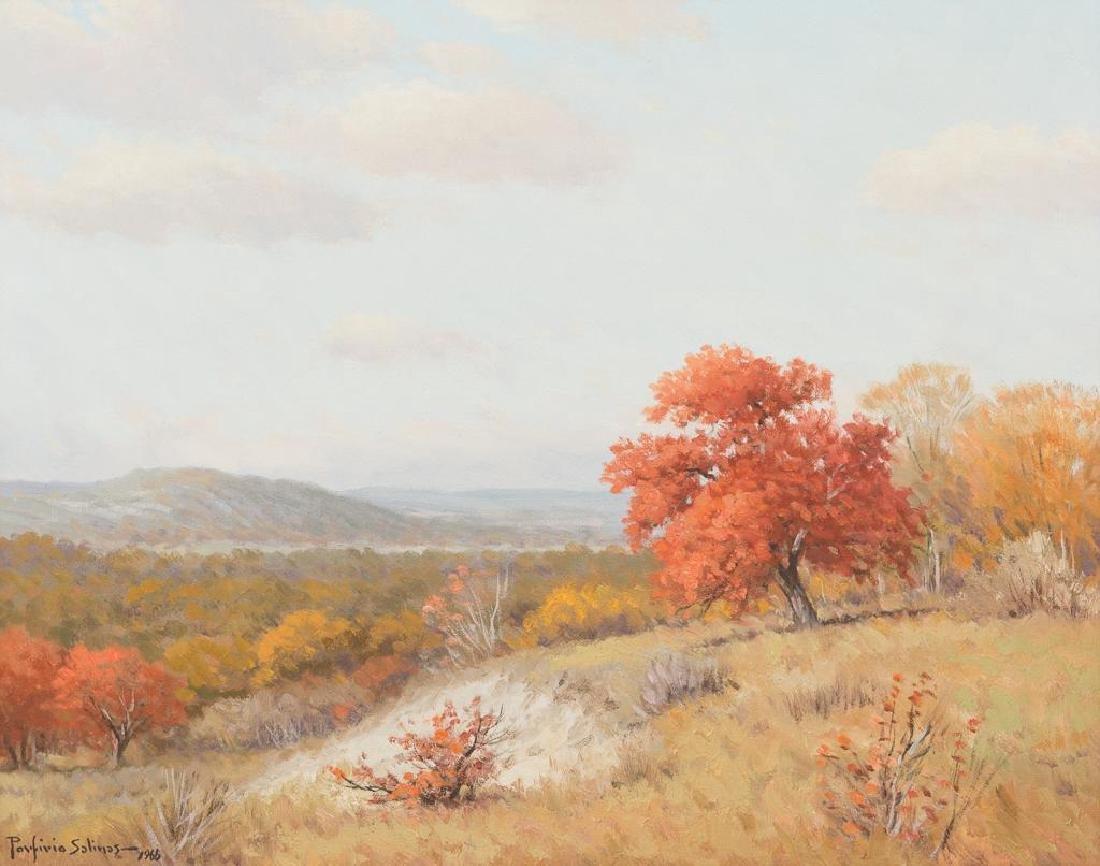 Porfirio Salinas (1910-1973), Autumn Landscape, 1966