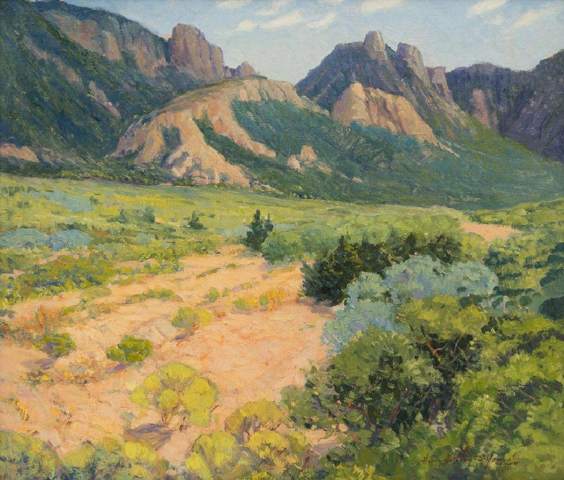 "Harry Anthony De Young (1893-1956), ""Chisos Valley"","