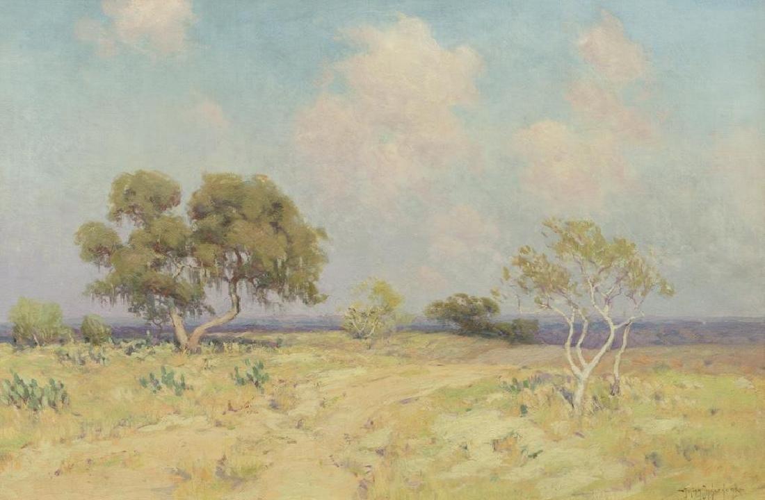 "Julian Onderdonk (1882-1922), ""A Sunlit Road, SA"""