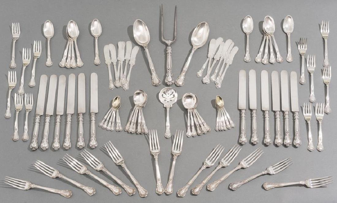 American Sterling 88 Pc. Flatware 'Chantilly' by Gorham