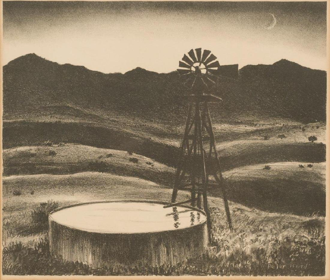 "Peter Hurd (1904-1984), ""The Water Tank"", 1930s,"