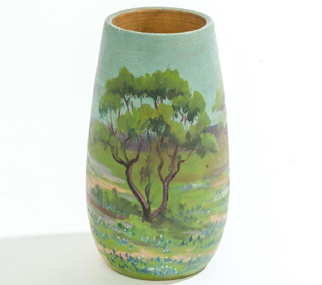 Meyer Pottery (1887-1962), Bluebonnet Vase