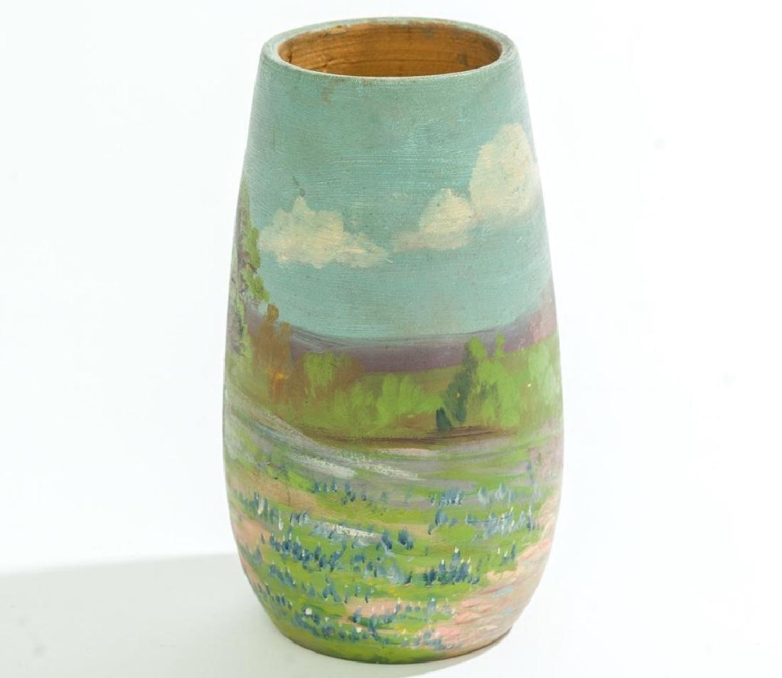Meyer Pottery (1887-1962), Bluebonnet Vase - 2