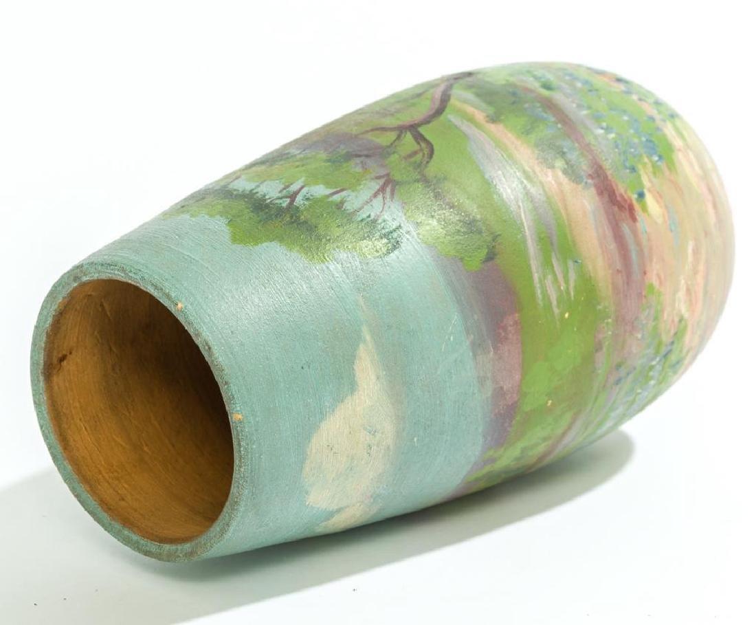 Meyer Pottery (1887-1962), Bluebonnet Vase - 3