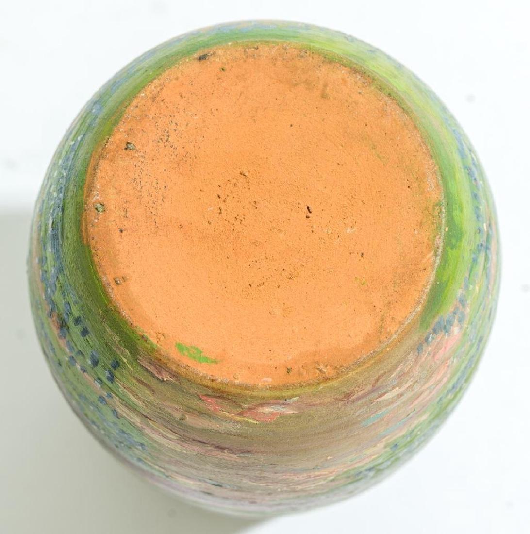 Meyer Pottery (1887-1962), Bluebonnet Vase - 5