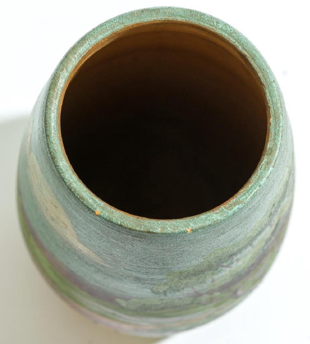 Meyer Pottery (1887-1962), Bluebonnet Vase - 6