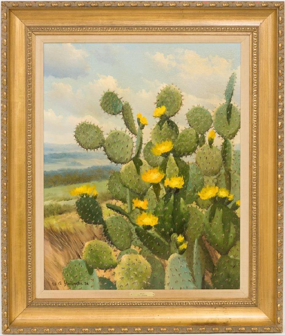 William Slaughter (1923-2003), Blooming Cactus, 1974 - 2