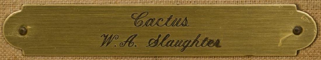 William Slaughter (1923-2003), Blooming Cactus, 1974 - 5