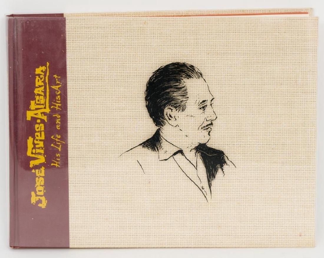 """Jose Vives-Atsara (1919-2004), """"His Life and Art"""" book"""