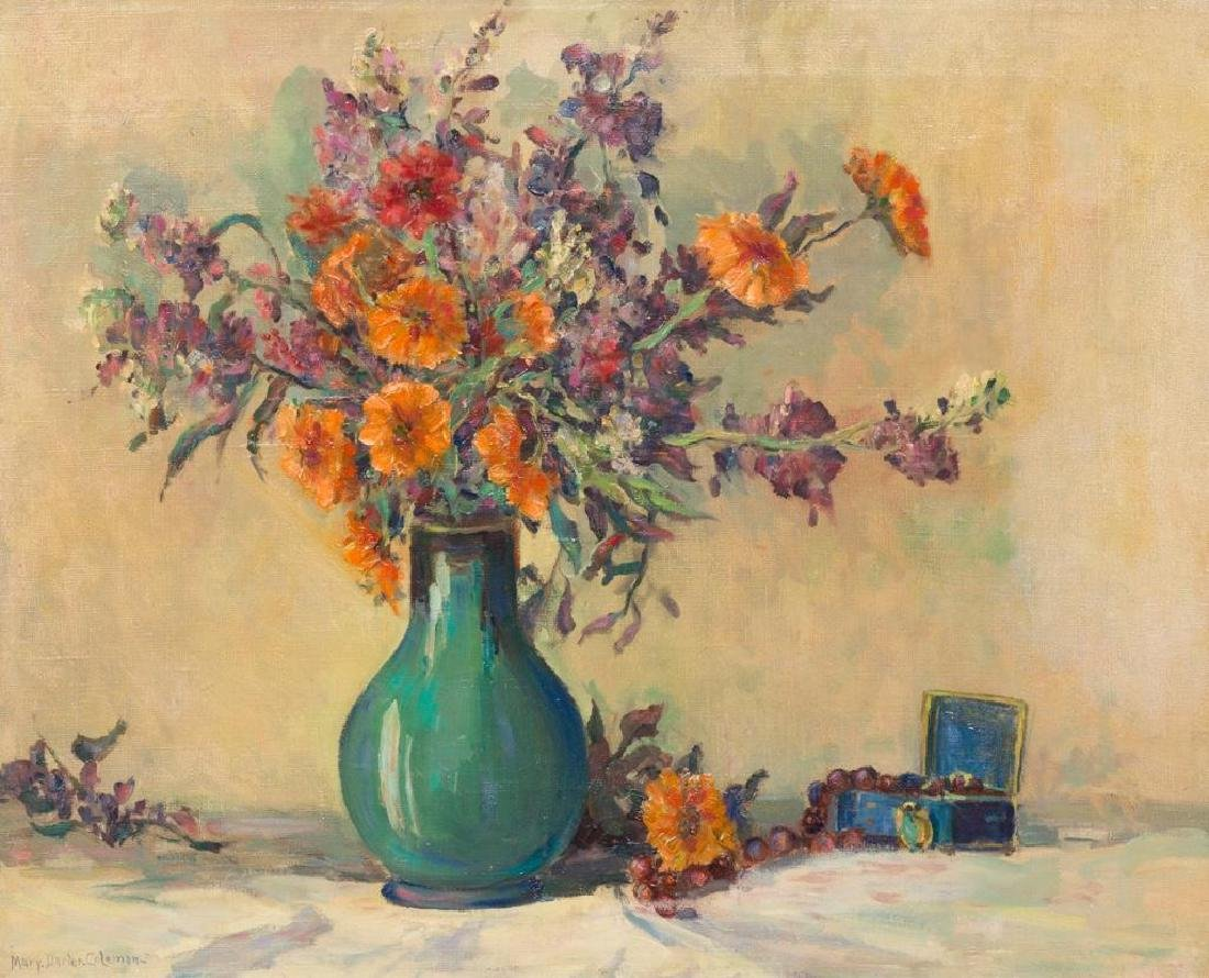 Mary Darter Coleman (1894-1956), Floral Still Life, oil