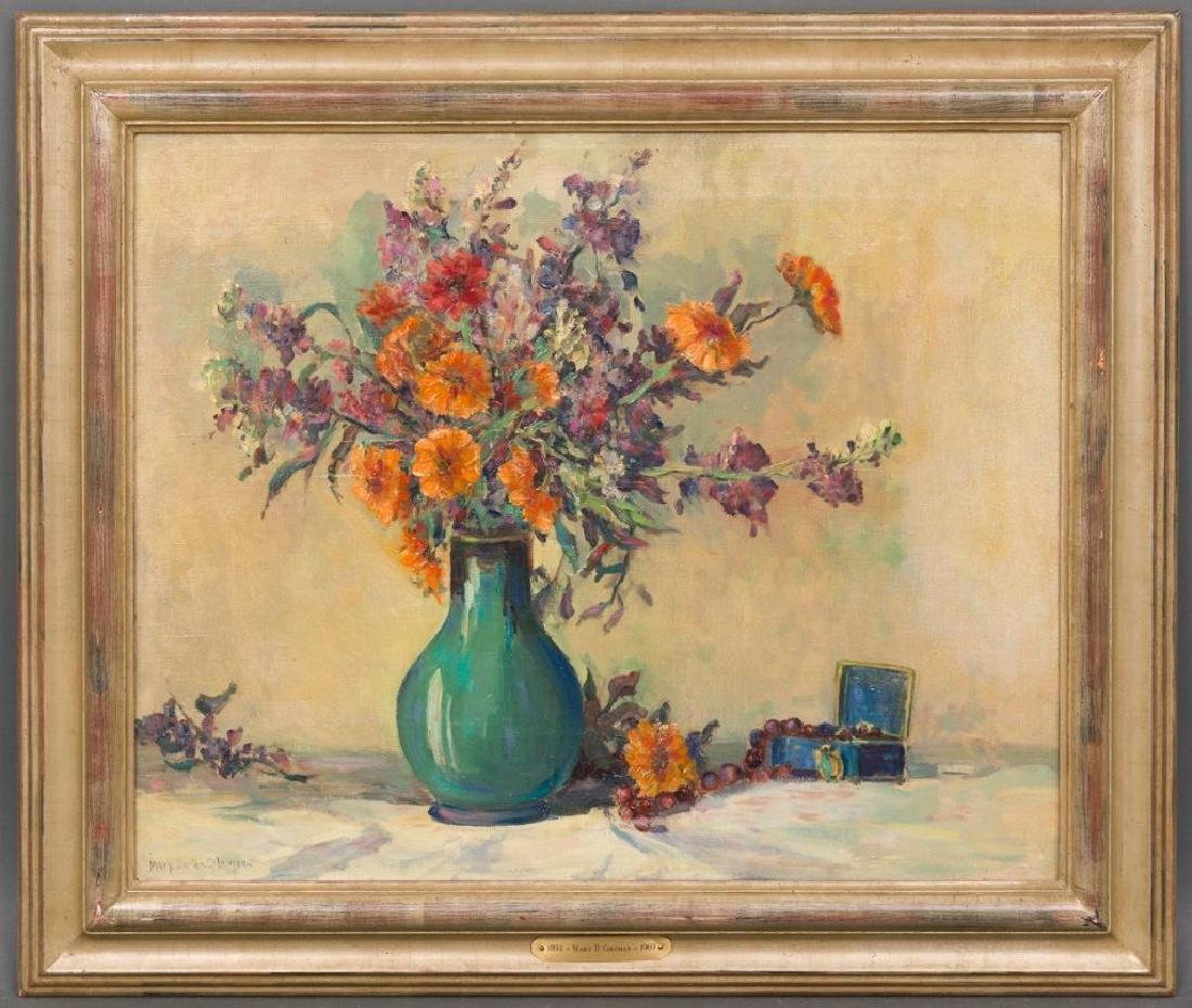 Mary Darter Coleman (1894-1956), Floral Still Life, oil - 2