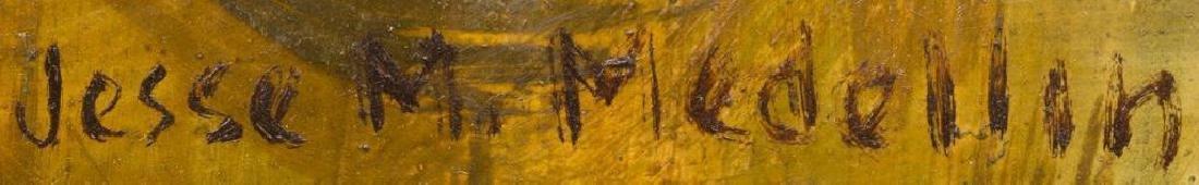 Jesse Medellin (1921-1997), Riverside, oil on board, - 3