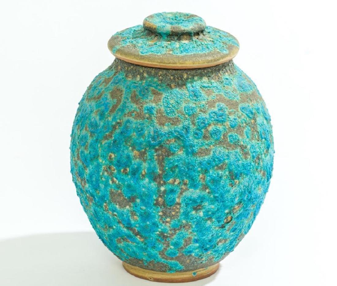 Harding Black (1912-2004), Turquoise Lava Ginger Jar, - 3