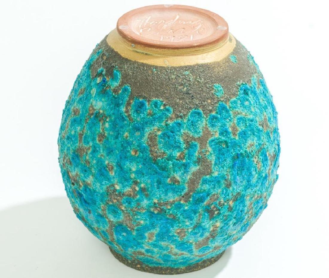 Harding Black (1912-2004), Turquoise Lava Ginger Jar, - 4