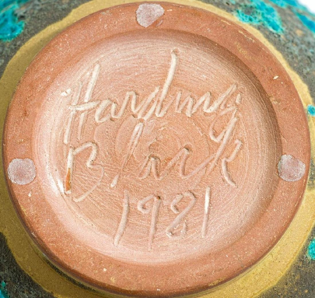 Harding Black (1912-2004), Turquoise Lava Ginger Jar, - 5
