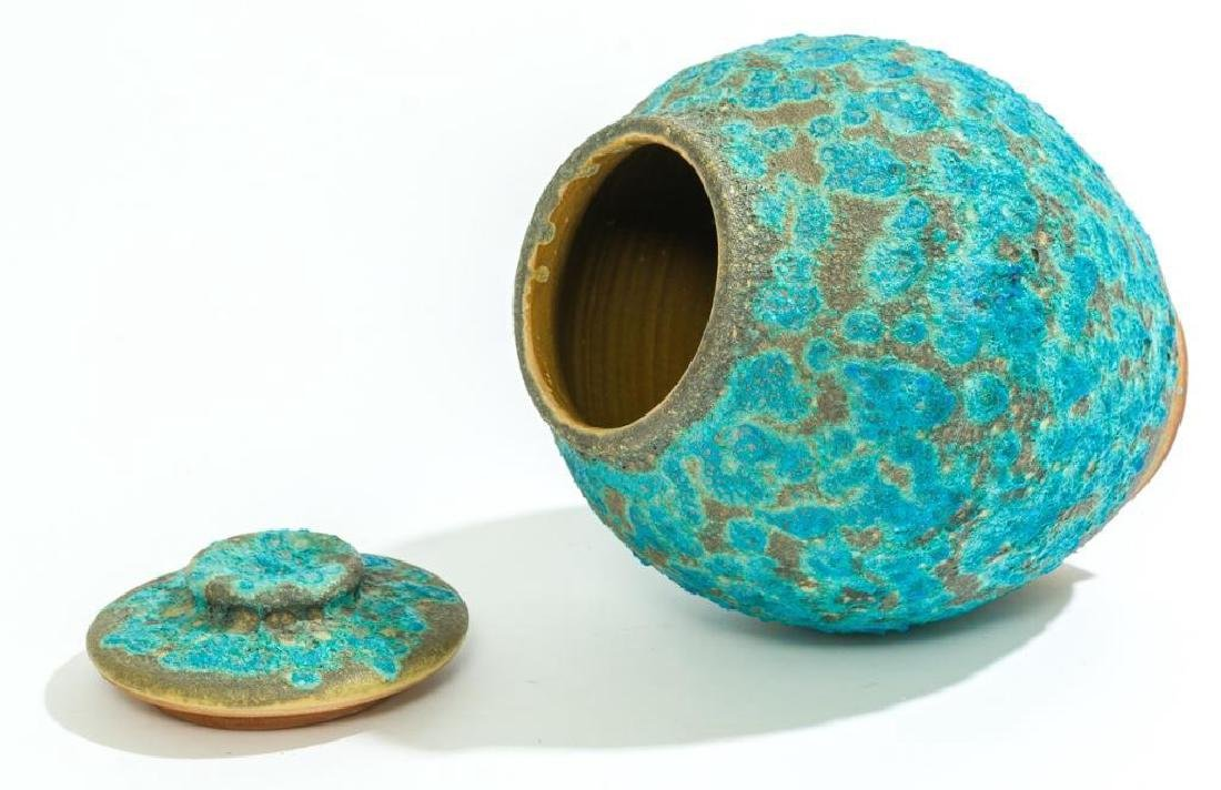 Harding Black (1912-2004), Turquoise Lava Ginger Jar, - 6