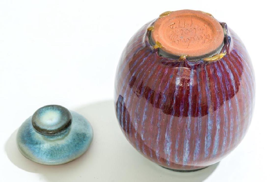 Harding Black (1912-2004), Red and Blue Ginger Jar, - 4