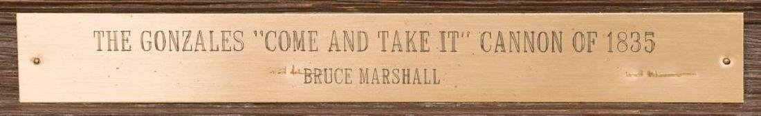 "Bruce Marshall (1929-2015), ""Come and Take It"" - 4"