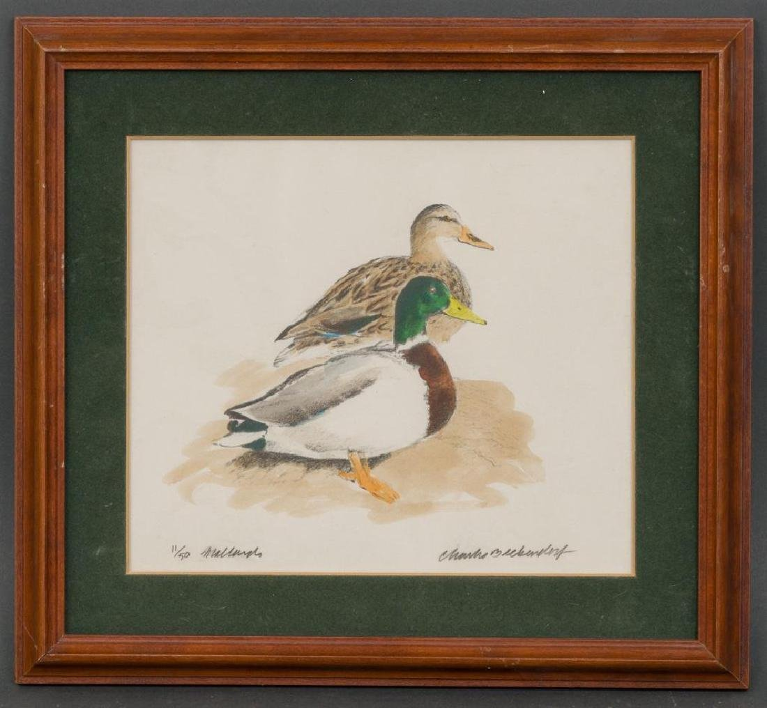 Charles Beckendorf (1930-1996), 3 Hand-colored litho - 5