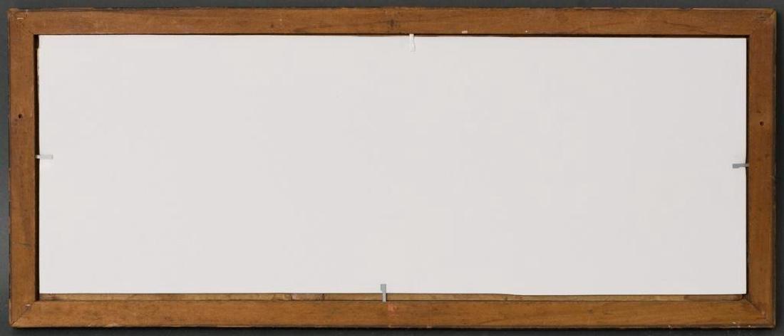 """A Field of Bluebonnets, c. 1920, oil on board, 7 x 19"""" - 3"""
