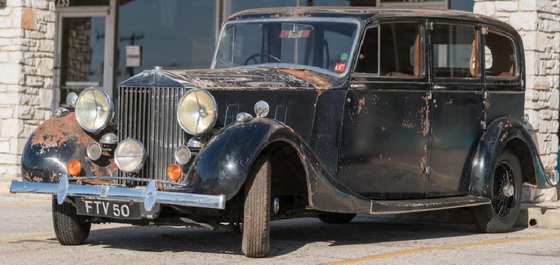 1939 Rolls-Royce Wraith RHD