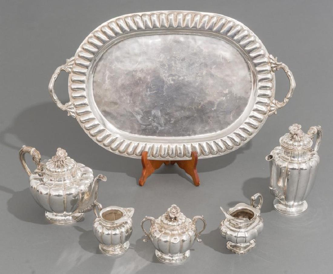 Mexican Sterling Silver Tea Set by Sanborns