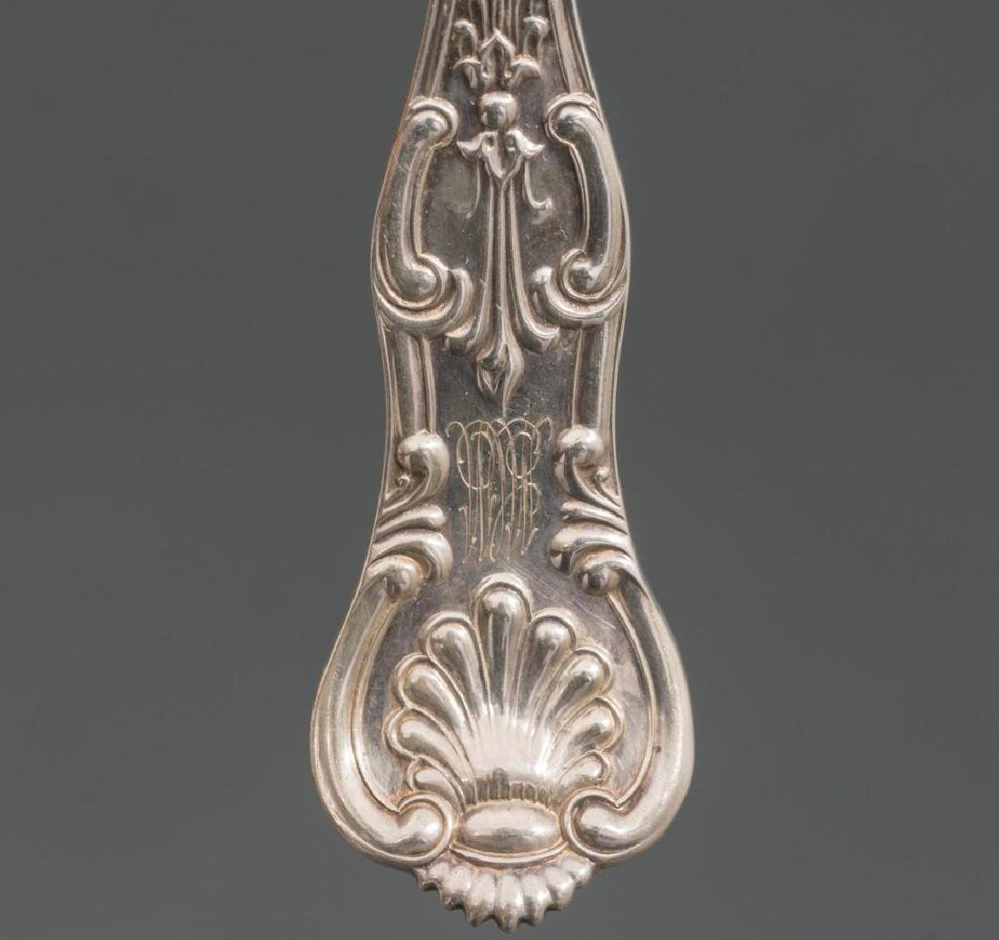 King by John Wendt New York Ca 1860 Sterling Silver - 6