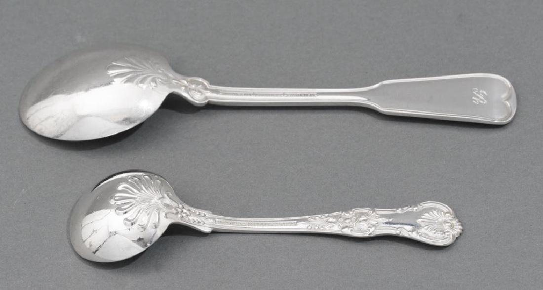 Tiffany 'English King' Sterling Silver Flatware Set 52 - 10