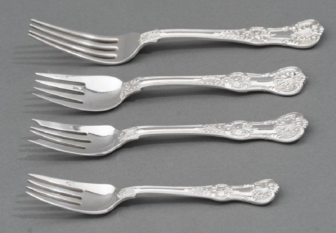 Tiffany 'English King' Sterling Silver Flatware Set 52 - 3