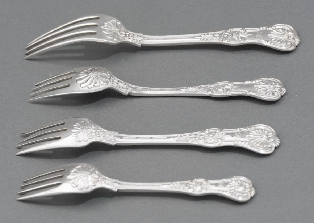 Tiffany 'English King' Sterling Silver Flatware Set 52 - 4